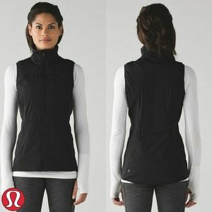 Lululemon | Run For Cold Vest | Black | 6